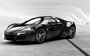 Picture Black, pavilion, HyperSport, W-Motors, Lykan
