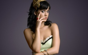 Picture look, music, actress, brunette, Katy Perry, singer