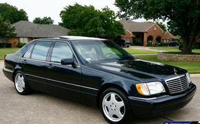 Picture mercedes-benz, w140, 600SEL