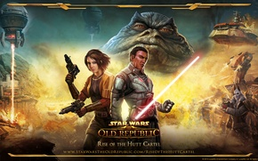 Picture Star Wars, The Old Republic, Rise of the Hutt Cartel