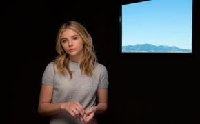 Picture Clouds of Sils Maria, Chloe Grace Moretz, Cannes Film Festival, Sils-Maria