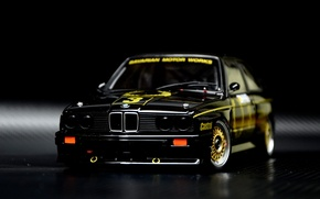 Picture BMW, BMW, sport, Black, E30