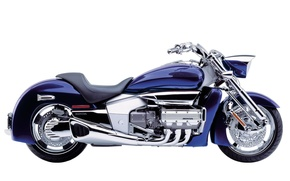 Picture background, Motorcycles, HONDA, purple motorcycle