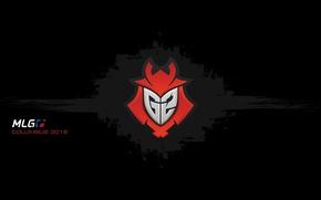 Picture logo, Counter-Strike, black background, csgo, Global Offensive, eSports, cs go, spot, mlg, Kinguin, columbus