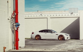 Picture BMW, Car, White, Side, Wheels, ADV.1