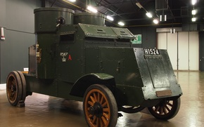 """Picture British, Peerless, """"Peerless"""", light armored vehicle, 1916/17g.g."""