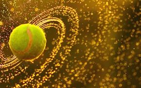 Picture wallpaper, sport, tennis, ball