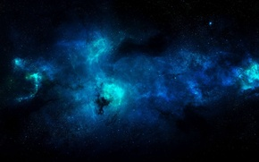 Picture space, stars, and maybe just a rendering, but beautiful :), ultraviolet spectrum