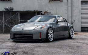 Picture nissan, wheels, 350 z, incurve