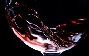 Wallpaper glass, macro, wine, red, glass, liquid