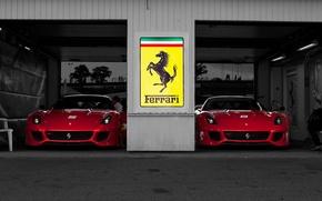 Picture Ferrari, boxes, ferrari 599xx