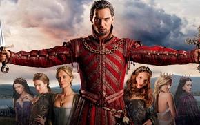 Picture Jonathan Rhys Meyers, Jonathan Rhys Meyers, The Tudors, Natalie Dormer, The Tudors, Natalie Dormer