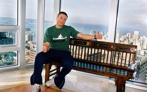 Picture man, actor, athlete, young, Jean-Claude Van Damme, Jean-Claude Van Damme