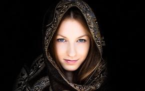 Picture background, portrait, headdress