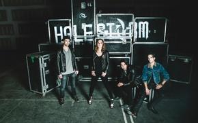 Picture hard rock, Halestorm, Lzzy Hale, Joe Hottinger, Arejay Hale, Josh Smith, Into the Wild Life