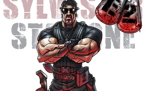 Wallpaper Rambo, The Expendables 2 The Expendables 2, Sylvester Stallone, Sylvester Stallone