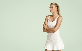 Picture model, blonde, tennis player, form, Maria Sharapova, Maria Sharapova, athlete, tennis, Russian, Tennis