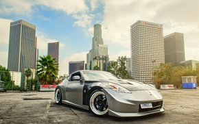 Picture Nissan, tuning, 370z, nismo, frontside