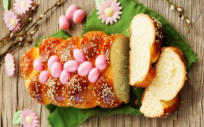 Wallpaper photo, Easter, Eggs, Holiday, Food, Cakes