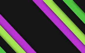 Picture strip, black, texture, green, material
