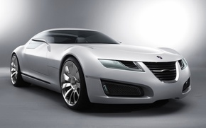 Wallpaper white, concept car, Aero-X, You can