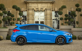 Picture Ford, Blue, Focus, Car, 2016, Metallic, RS, Sboc