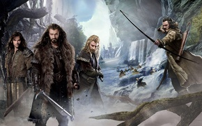 Picture dwarves, Keeley, company, The hobbit, The Hobbit, Fili, Thorin, Oakenshield, Thorin Oakenshield, The Hobbit: The ...