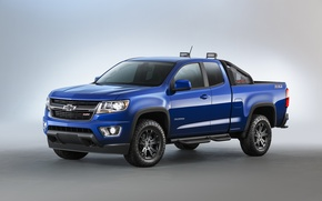 Picture jeep, 2015, Colorado, pickup, Chevrolet, Extended Cab, Chevrolet, blue, Z71, Trail Boss, Colorado