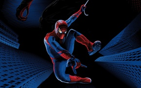 Picture web, Lizard, costume, superhero, The Amazing Spider-Man, Andrew Garfield, New spider-Man, Andrew Garfield