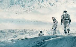 Picture snow, the suit, interstellar, Matthew McConaughey, interstellar