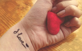 Picture love, heart, hand, love