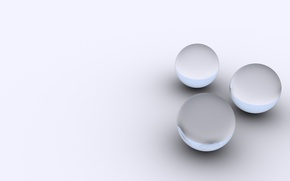 Picture circles, grey, background, balls