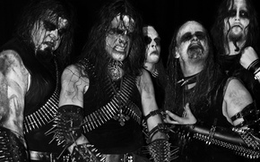 Picture Gorgoroth, corpse paint, Black Metal