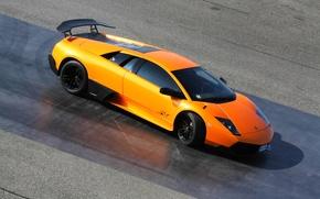 Picture Lamborghini, Orange, LP670-4