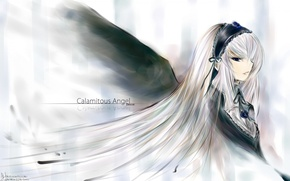Picture anime, Wallpaper, calamitous angel