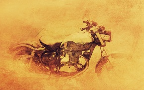 Picture background, texture, motorcycle