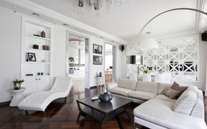 Picture White, Interior, Art deco, The white room, White room, Art Deco