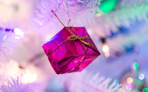 Picture toy, tree, new year, Christmas, decoration