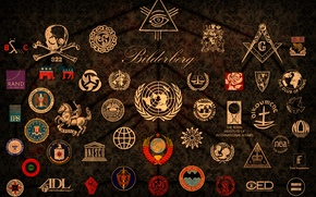 Wallpaper World, the, The, emblems, Conspiracy, Rule