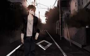Picture Anime, Boy, Angell