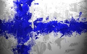 Wallpaper flag, flag, Finland, The republic of finland, Republiken Finland, The Republic Of Finland