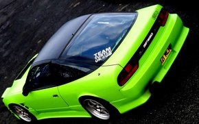 Picture auto, sports, Nissan, S13, 240 SX