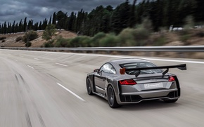 Picture road, car, auto, Concept, Audi, speed, speed, TT, Clubsport Turbo