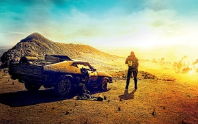 Picture Ford, Action, Nature, Clouds, Sky, Cars, Mad, Warrior, Wallpaper, Falcon, Sand, Boy, Road, Year, Weapons, …
