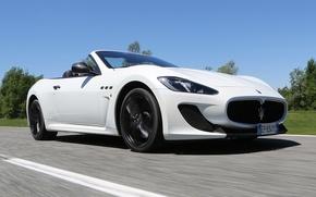 Picture road, Maserati, GranCabrio