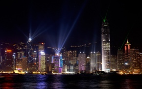 Picture night, home, Hong Kong