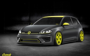 Picture Volkswagen, front, R400, by Gurnade