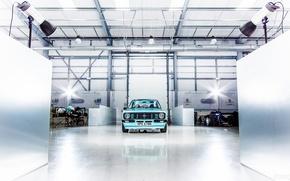 Picture machine, Ford, garage, Formula 1, Escort, Ford Escort Mk2, SkyBlue