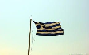 Picture the sky, sky, flag, greece, venitomusic, Greece Flag