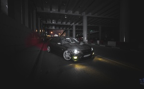 Picture car, lexus, drift, night, low